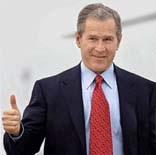 Bush thumbs up.JPG